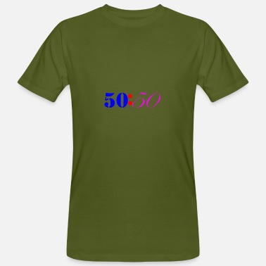 Fifty Fifty Colours - Men's Organic T-Shirt