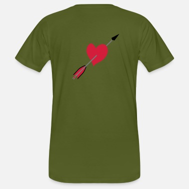 Love Struck Love struck design by patjila - Men's Organic T-Shirt