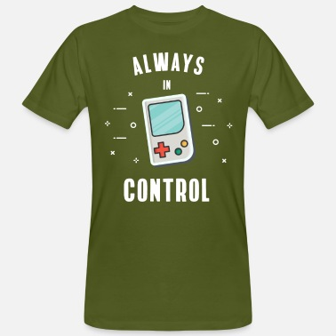 Gaming Gamer Retro Computer PC Nerd Gaming nerd geek play - Männer Bio T-Shirt