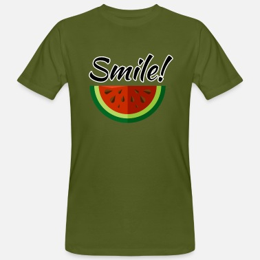 Optimisme Smile - T-shirt bio Homme