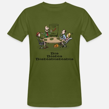 Meeting meeting - Mannen bio T-shirt