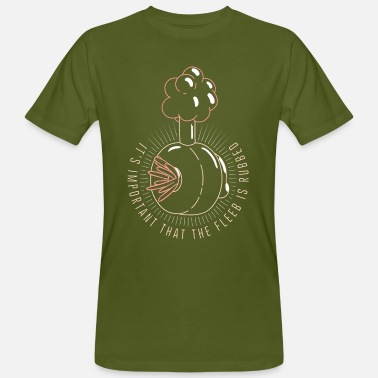 Morty Rick and Morty Plumbus - Ekologisk T-shirt herr