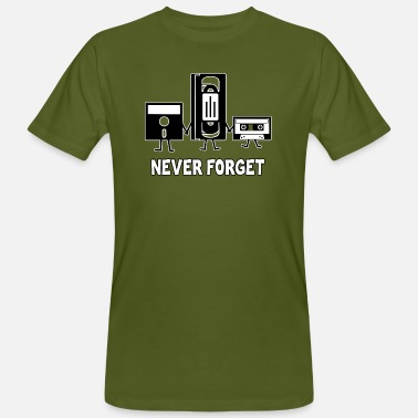 Never Forget Never forget - Men's Organic T-Shirt