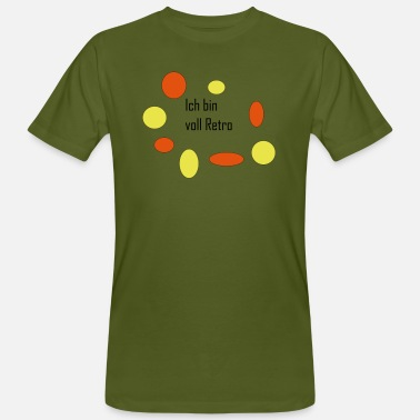 I am full of retro - Men's Organic T-Shirt