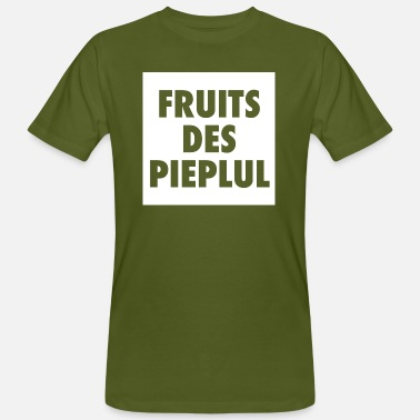 Thomas FRUITS DES PIEPLUL - Free the People - Mannen bio T-shirt
