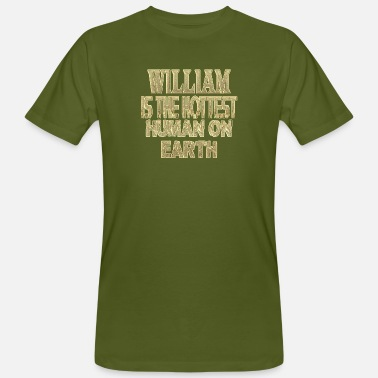 William William - Camiseta orgánica hombre