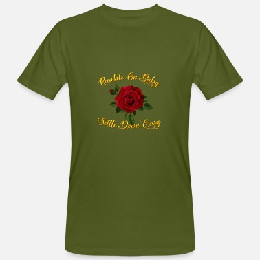 Ramble Ramble on Rose - Men's Organic T-Shirt