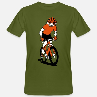 Sporty Mountain bike V tc - Men's Organic T-Shirt