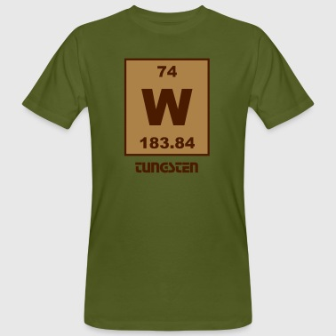 Tungsten (W) (element 74) - Men's Organic T-shirt