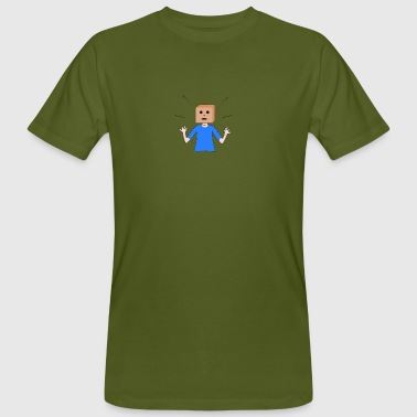 Incognito pour Spreadshirt - T-shirt bio Homme