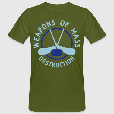 Hockey Weapons of Mass Destruction - Men's Organic T-shirt