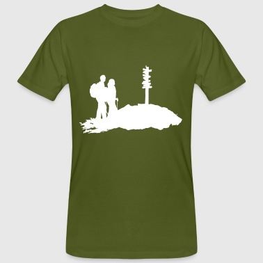 Hiking, Hikers - Men's Organic T-shirt