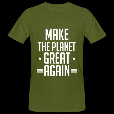 Gør Planet Great Again Climate Change - Organic mænd