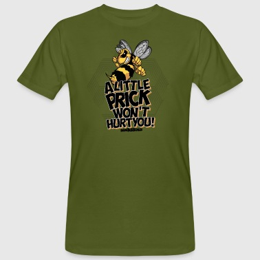 BearAssCheek-Little Dot - Buzz Off! - Mannen Bio-T-shirt