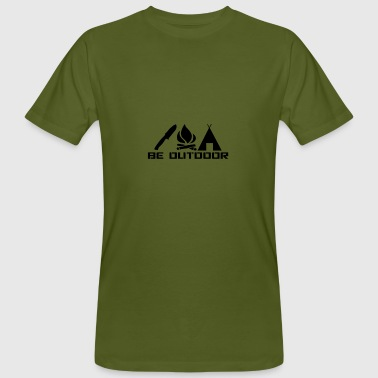 Be Outdoor - Männer Bio-T-Shirt