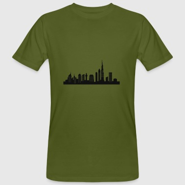 dubai skyline - Men's Organic T-shirt
