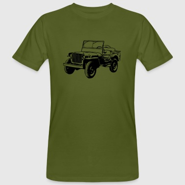 Willy Jeep - Men's Organic T-shirt