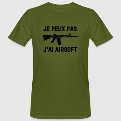 I can not I have airsoft - Men's Organic T-shirt