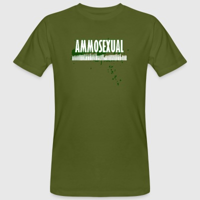 Ammosexual Multi-Caliber (white) - Men's Organic T-shirt