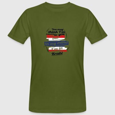 HOLIDAYS HOME ROOTS TRAVEL IN Thailand Krabi - Men's Organic T-shirt