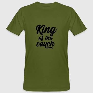 King of the couch - T-shirt ecologica da uomo