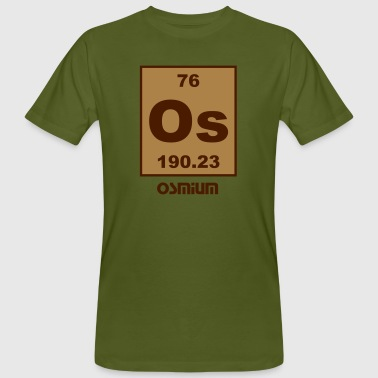 Osmium (Os) (element 76) - Men's Organic T-Shirt