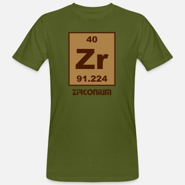 Zirconium Zirconium (Zr) (element 40) - Men's Organic T-Shirt
