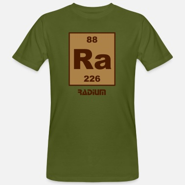 Radium Element 88 - ra (radium) - Short (white) - Männer Bio-T-Shirt