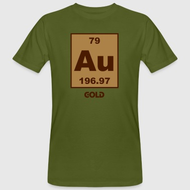 Gold (Au) (element 79) - Men's Organic T-shirt