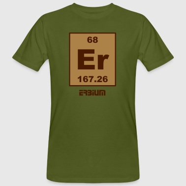 Erbium (Er) (element 68) - Men's Organic T-Shirt