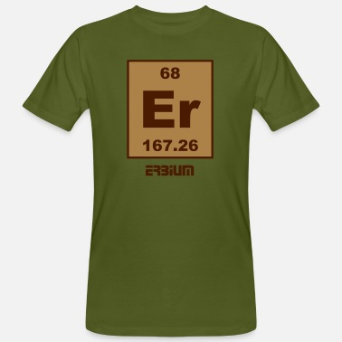 Erbium Erbium (Er) (element 68) - Men's Organic T-Shirt