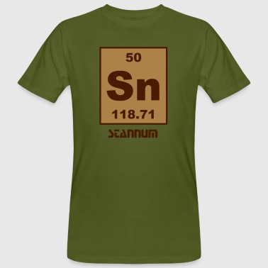 Stannum (Sn) (element 50) - Men's Organic T-shirt