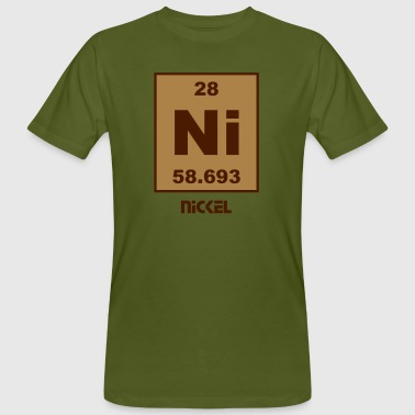 Nickel (Ni) (element 28) - Men's Organic T-Shirt
