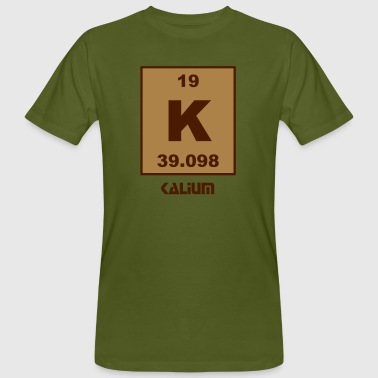 Kalium Kalium (K) (element 19) - Men's Organic T-Shirt
