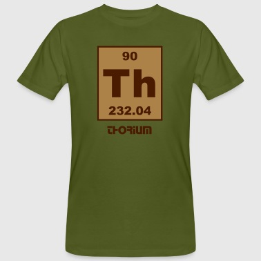 Thorium (Th) (element 90) - Men's Organic T-shirt