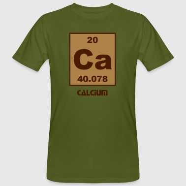 Element 20 - ca (calcium) - Short (white) Camisetas - Camiseta ecológica hombre