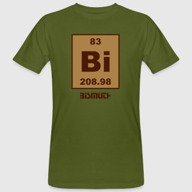 Bismuth (Bi) (element 83) - Men's Organic T-Shirt