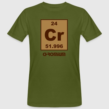 Chromium (Cr) (element 24) - Men's Organic T-shirt