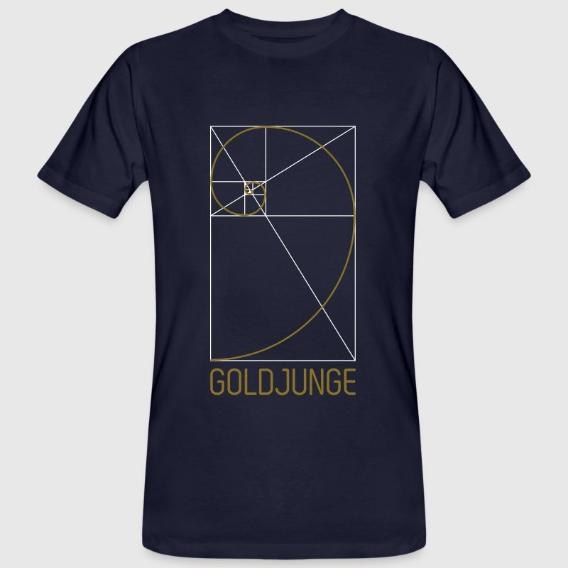 Goldjunge - Männer Bio-T-Shirt