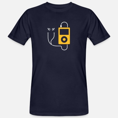 Mp3 / MP3-Player - Männer Bio T-Shirt