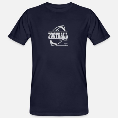 College Football Football League Football League College Team - Mannen Bio-T-shirt