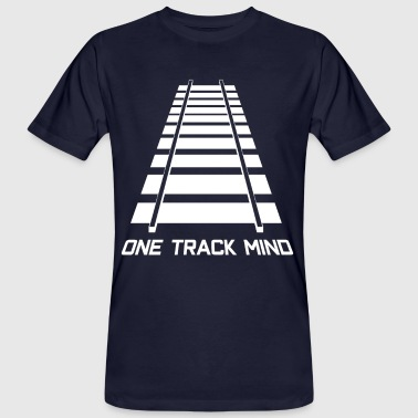 Rail tracks track model railway - Men's Organic T-Shirt