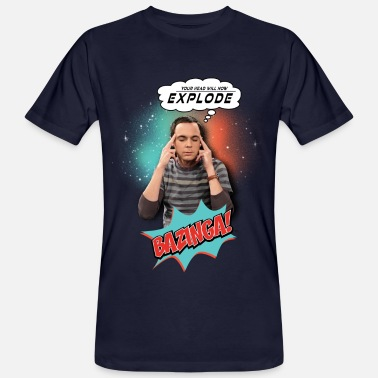 The Big Bang Theory  Explode - Männer Bio-T-Shirt