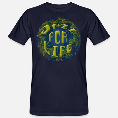 Life Chine Jazz for life - T-shirt bio Homme