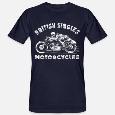 Royal Enfield rider - Men's Organic T-Shirt