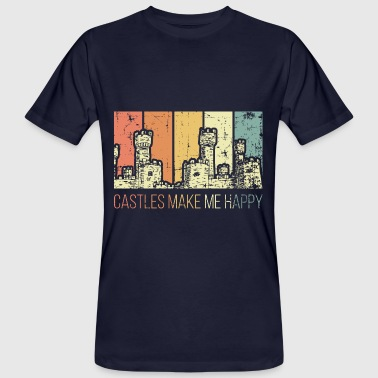 Medieval Times Medieval castles make me happy - Men's Organic T-Shirt