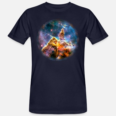 Supernova Explosion Galactic Mystic Mountain, Carina Nebula, Space, Galaxy, - Men's Organic T-Shirt
