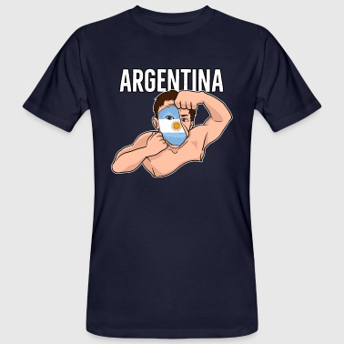 Argentina Fan Gift Football Argentina - Men's Organic T-Shirt