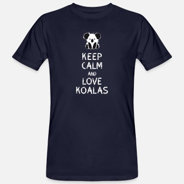 Koala Bear Koala bear cute drawing tree Australia funn - Men's Organic T-Shirt