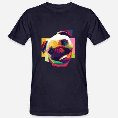 Colorful Dog - Men's Organic T-Shirt
